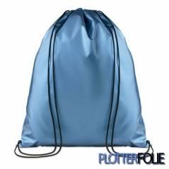 Metallic Polyester Rugzak Blauw