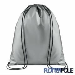 Metallic Polyester Rugzak Zilver