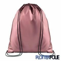 Metallic Polyester Rugzak Roze
