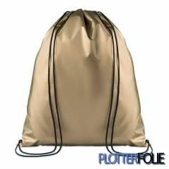 Metallic Polyester Rugzak Goud