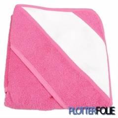 Sublimatie Baby Handdoek 75x75cm Roze
