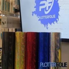 Holografisch Glitter Vinyl per meter
