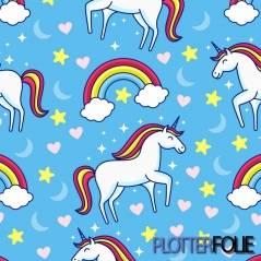 ColorPrint Flex Unicorn Blauw