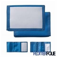 Sublimatie portemonnee blauw