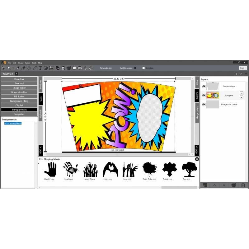 SubliRip 3.0 Sublimatie Software