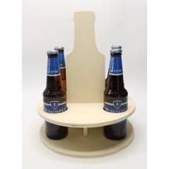 MDF kadoverpakking voor vijf bierflesjes