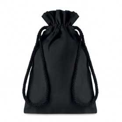 Geschenktas 14x22cm zwart