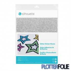 Silhouette Printbaar Zelfklevend Glitter Papier