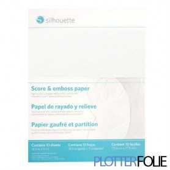 Embossing Papier (12,7cm x 17,7cm)
