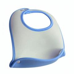 Blauw Neopreen Pocket Slabbetje