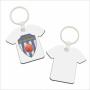 10 Pak MDF Sleutelhanger Shirt