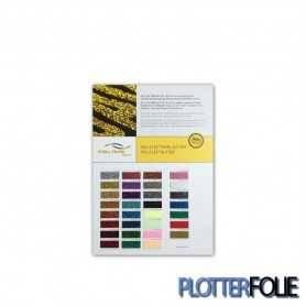 Kleurkaart Pearl Glitter Flex