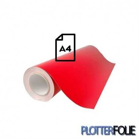 Ritrama Fluor Vinyl Rood (A4)