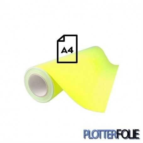 Ritrama Fluor Vinyl Geel (A4)