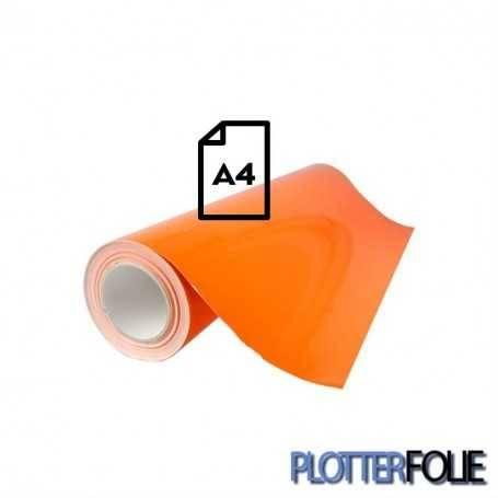 Ritrama Fluor Vinyl Oranje (A4)