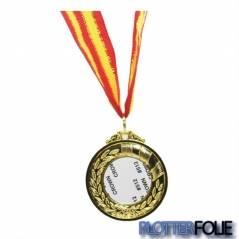 Sublimatie Medaille Goud