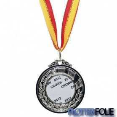 Sublimatie Medaille Zilver