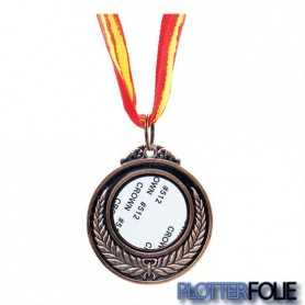 Sublimatie Medaille Brons
