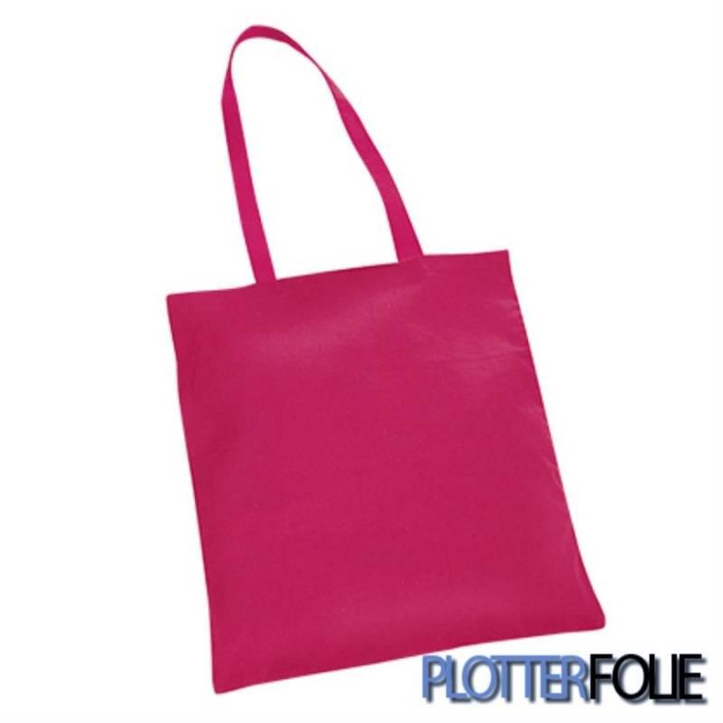 7661de6a410 Katoenen tas roze - Plotterfolie.nl
