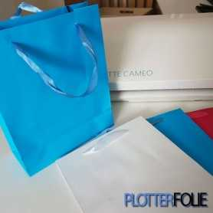 Cadeau tas medium blauw